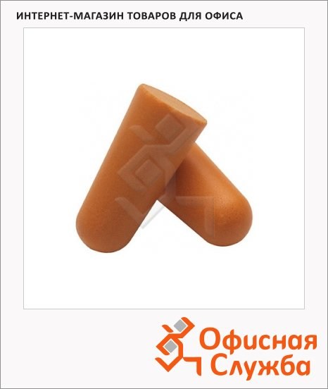Беруши одноразовые Kimberly-Clark Jackson Safety H10 25708, оранжевые, 500 пар