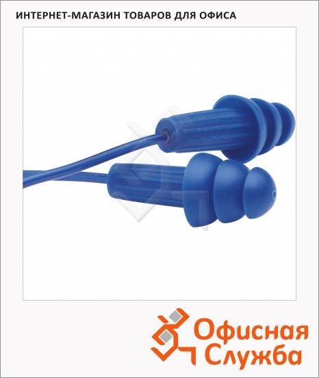 Беруши многоразовые Kimberly-Clark Jackson Safety H10 13822, синие