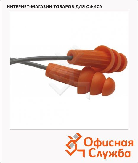 Беруши многоразовые Kimberly-Clark Jackson Safety H20 67221, оранжевые