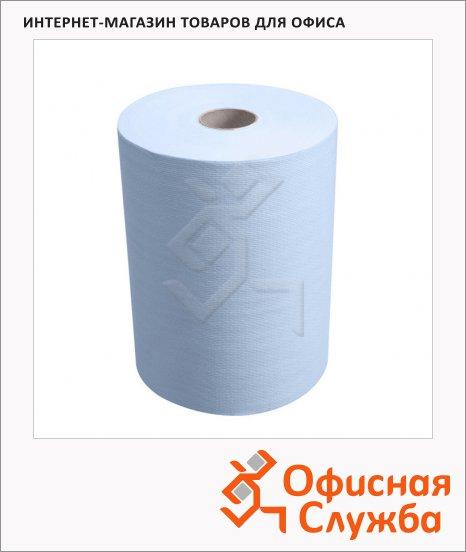 фото: Бумажные полотенца Kimberly-Clark Scott Slimroll 6698 в рулоне, 190м, 1 слой, синие