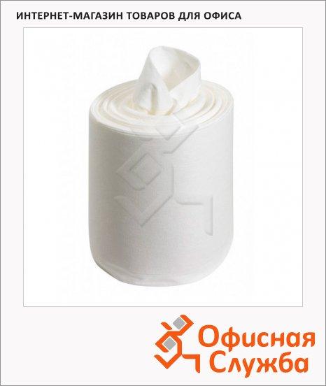 Протирочные салфетки Kimberly-Clark Wettask 38665, в рулоне, 60шт, 1 слой, белые