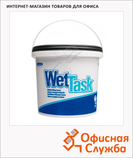 Ведро-диспенсер для протирочных салфеток Kimberly-Clark Wettask 7922, белый