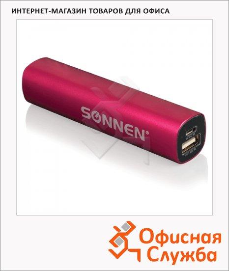 Внешний аккумулятор универсальный Sonnen PB 2200, 2200mАh, розовый