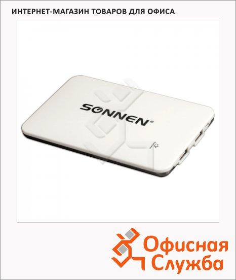 Внешний аккумулятор универсальный Sonnen PB 9000, 9000mАh, белый