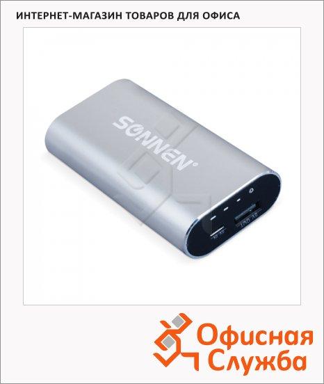 Внешний аккумулятор универсальный Sonnen PB 5001, 5000mАh, серебристый