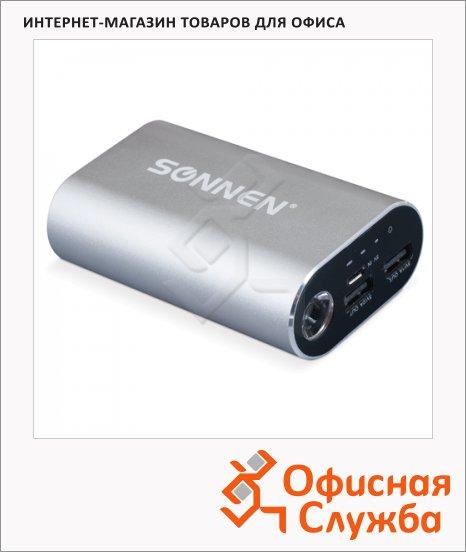 фото: Внешний аккумулятор универсальный Sonnen PB 10000 10000mАh, серебристый