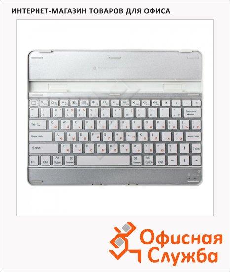 Клавиатура беспроводная Bluetooth Sonnen KB-B110 серебристая