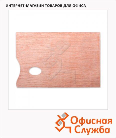 фото: Палитра для рисования Невская Палитра прямоугольная 20х30см, дерево, DK18434