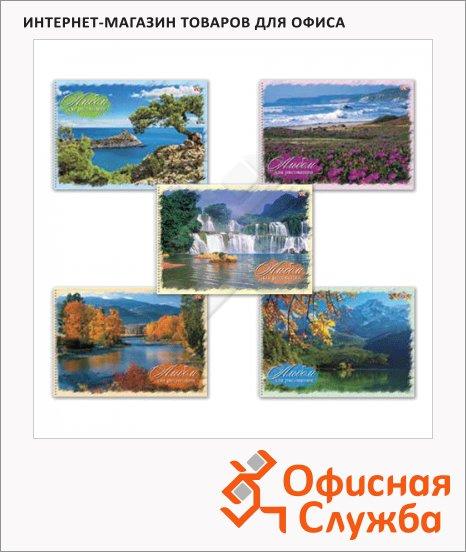 Альбом для рисования Hatber Природа, А4, 100 г/м2, 40 листов