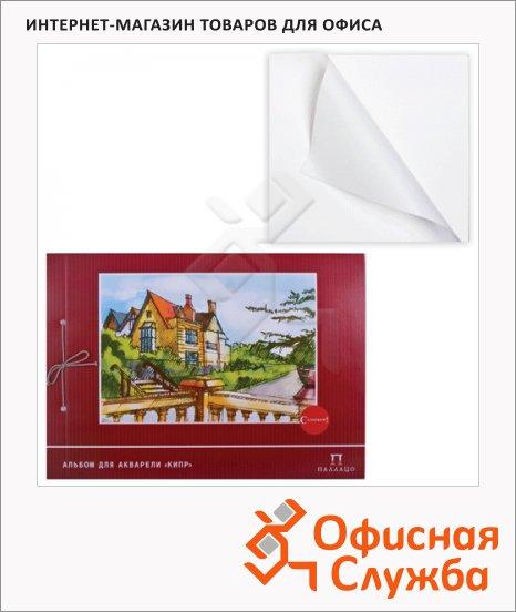 Альбом для акварели Palazzo Кипр, А3, 200 г/м2, 20 листов, на завязках