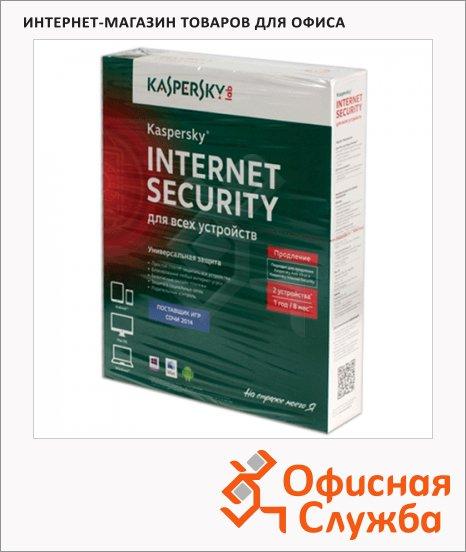 фото: Антивирус Kaspersky Internet Security 2 ПК/1 год, продление лицензии