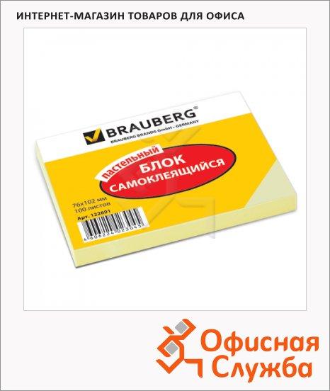 ���� ��� ������� � ������� ����� Brauberg ������, ����������, 76x102��, 100 ������
