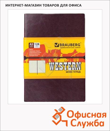 ������� Brauberg Western, A5, 128 ������, � ������, �� ������, ������������� ����