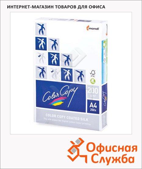 Бумага для принтера Color Copy Silk А4, 250 листов, белизна 138%CIE, 200г/м2