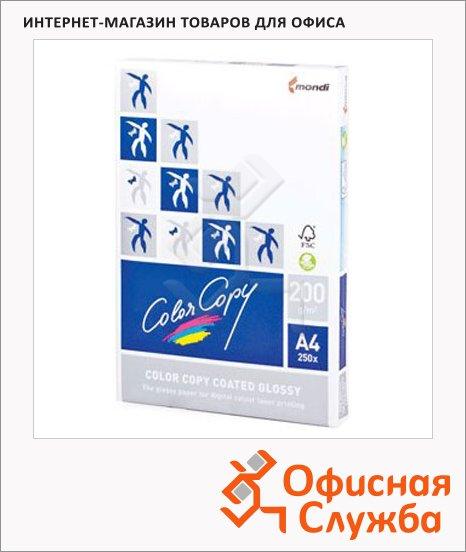 Бумага для принтера Color Copy Glossy А4, 250 листов, белизна 138%CIE, 200г/м2