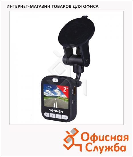 фото: Видеорегистратор автомобильный Sonnen DVR-530 FullHD 120° microSD, HDMI, экран 2''
