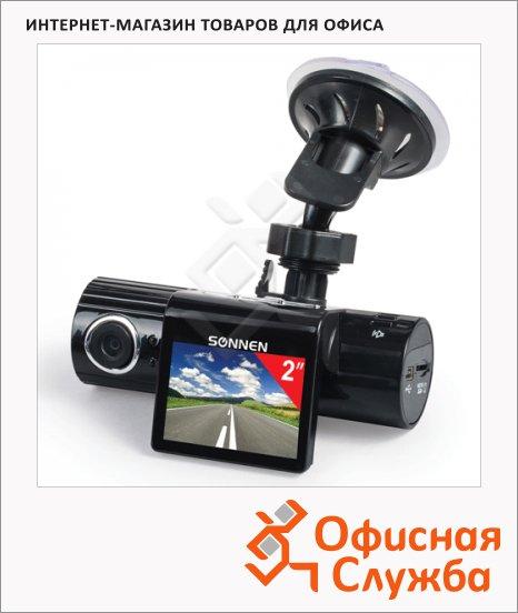 фото: Видеорегистратор автомобильный Sonnen DVR-330 HD 120° microSD, экран 2''