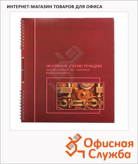 фото: Журнал Политехнология регистрации инструктажа по ТБ А4, 50 листов, картон