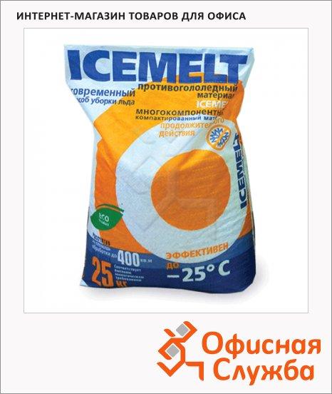 Антигололёдный реагент Icemelt 25кг, продолжительнгого действия, до -25°С