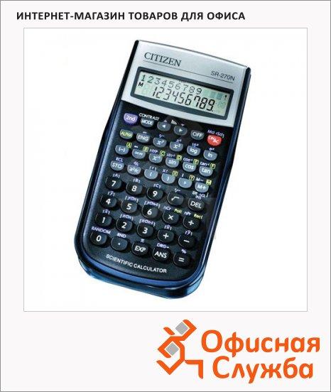 Калькулятор инженерный Citizen SR-270N черный, 10+2 разрядов