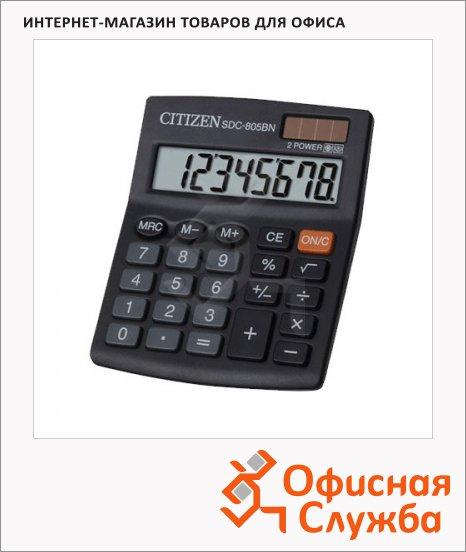 фото: Калькулятор настольный SDC-805BN черный 8 разрядов