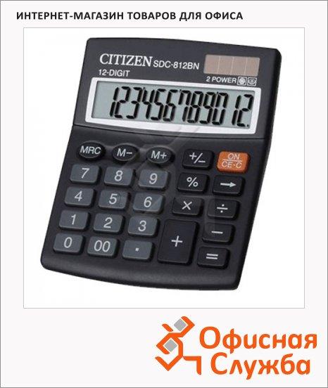 фото: Калькулятор настольный SDC-812BN черный 12 разрядов