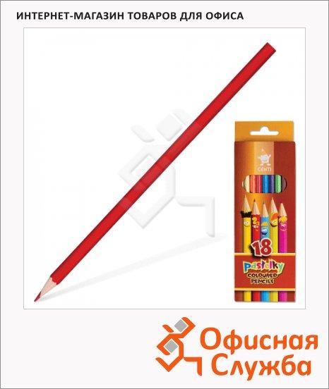 фото: Набор цветных карандашей Koh-I-Noor 18 цветов 2143/18