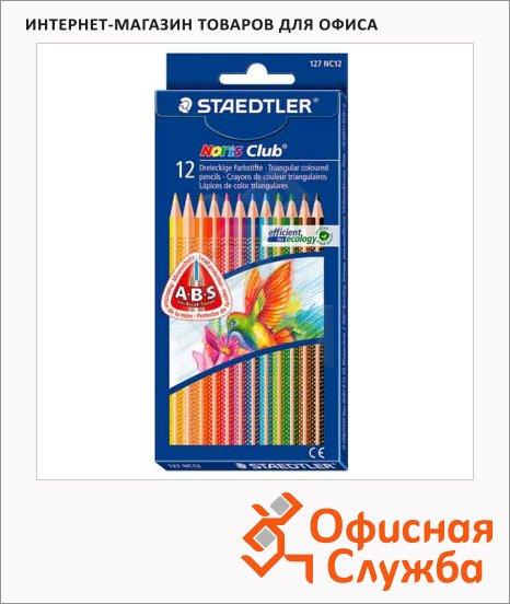 Набор цветных карандашей Staedtler NorisClub 12 цветов, 127NC1211