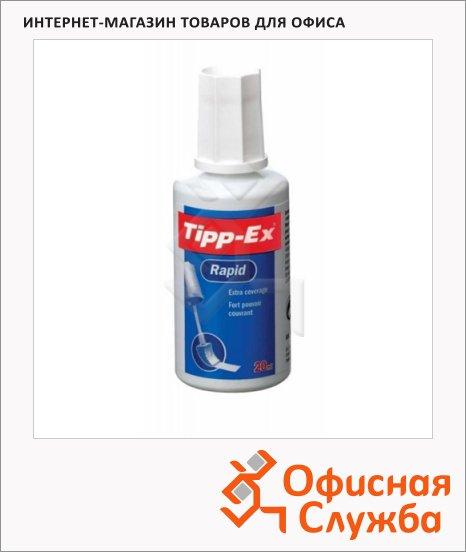 Корректирующая жидкость Bic Tipp-ex Rapid 20мл, с губкой, быстросохнущая
