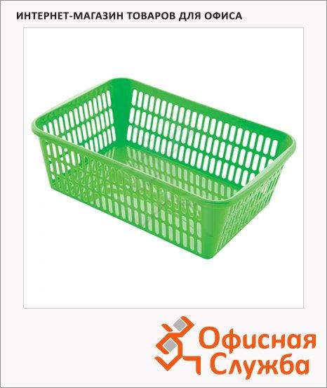 Корзинка для хранения универсальная Полимербыт 9.5х30х19.5см, ассорти