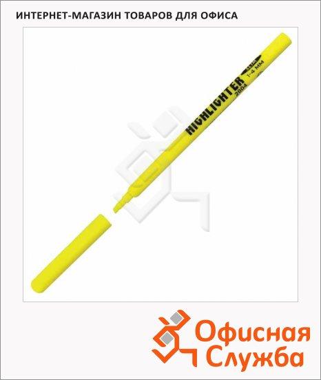 фото: Текстовыделитель Koh-I-Noor Ergo желтый 1-4мм, скошенный наконечник
