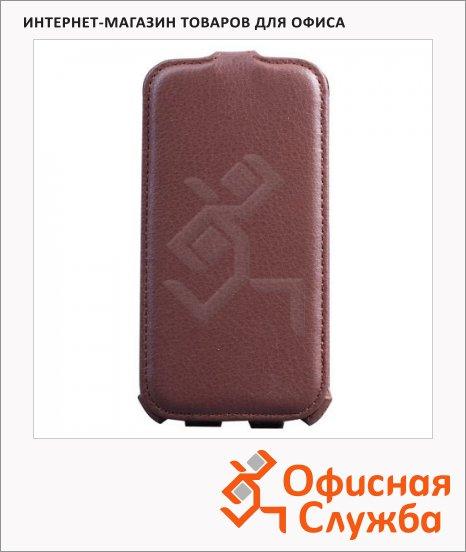 фото: Чехол для Samsung Galaxy S4 Sonnen Concept коричневый вертикальный, искусственная кожа