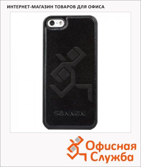 Чехол для Apple iPhone 5/5S Sonnen Respect черный, пластиковый