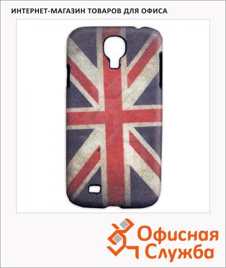 фото: Чехол для Samsung Galaxy S4 Sonnen Flag рисунок Британский флаг пластиковый