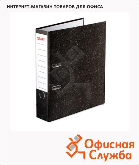 Папка-регистратор А4 Staff Эконом мрамор, 50 мм, 224615