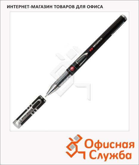 Ручка гелевая Erich Krause Megapolis чёрная, 0.5мм