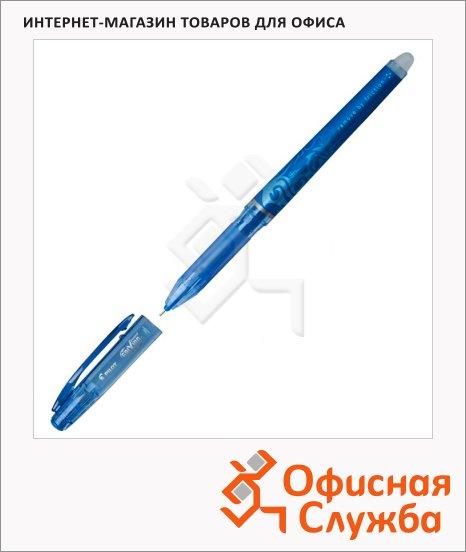 Ручка гелевая стираемая Pilot Frixion Рoint синяя, с ластиком, BL-FRP5, 0.25мм