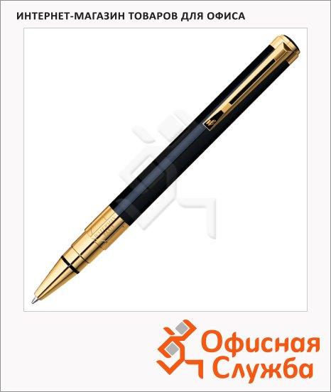 Ручка шариковая Waterman Perspective Black GT 0.5мм, синяя, черный/позолота 23карата корпус, S0830900