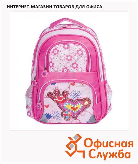 фото: Рюкзак для девочек 38х29х14см Beauty queen, розовый, 224251