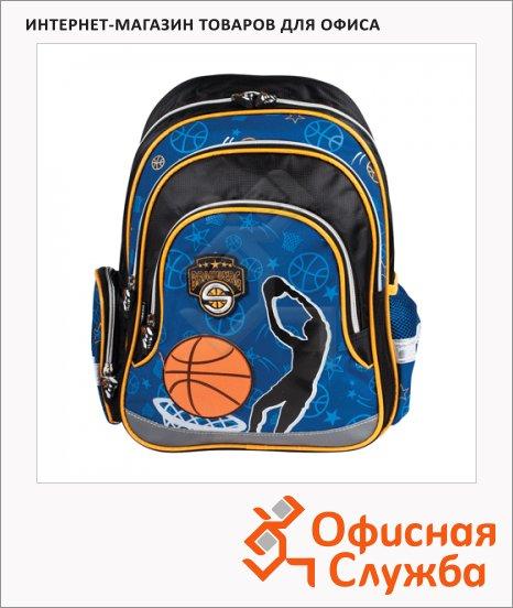 фото: Рюкзак для мальчиков Basketball сине-оранжевый, 224263