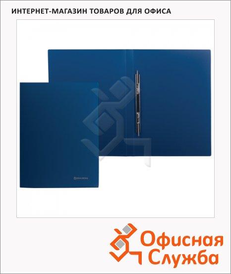 фото: Скоросшиватель пластиковый Brauberg Стандарт синий А4