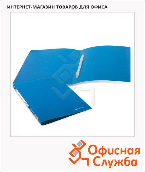 Скоросшиватель пластиковый Brauberg Бюджет синий, А4
