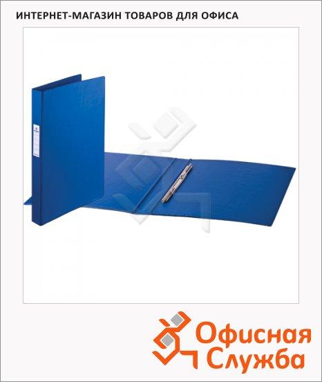 фото: Скоросшиватель пружинный Brauberg Comfort синий А4, 223187