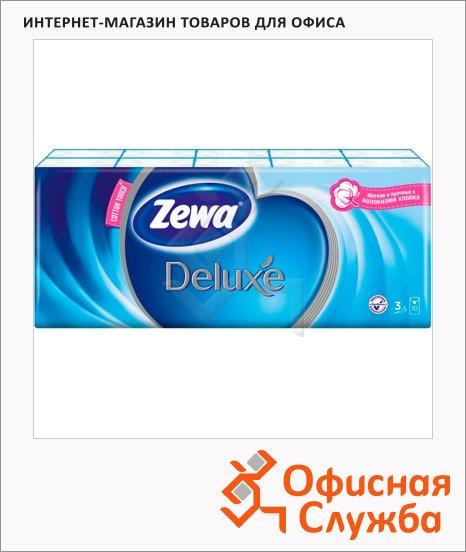 ������� ������ Zewa Deluxe 10�� � 10��, 3 ����