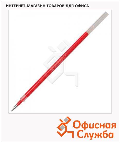 Стержень для гелевой ручки Brauberg красный, 0.5мм, 130мм, 170168, игольчатый наконечник