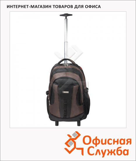 фото: Рюкзак для мальчиков Brauberg Jax 2 черно-коричневый