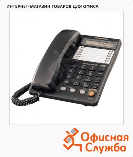 фото: Телефон проводной Panasonic KX-TS2365RU черный
