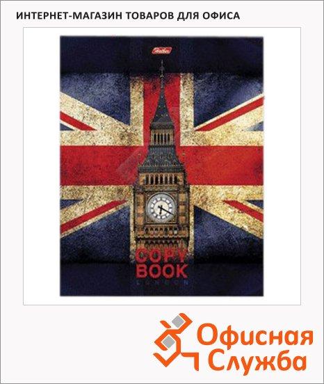 Тетрадь на кольцах Hatber Британский флаг, A5, 240 листов, в клетку, ламинированный картон