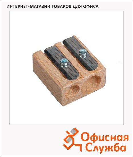 фото: Точилка Koh-I-Noor 2 отверстия деревянная, 90950Z