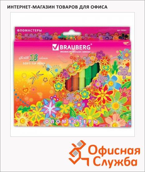 ���������� Brauberg Flowers 18 ������, ���������